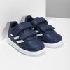 Modré tenisky na suchý zips adidas, modrá, 101-9151 - 26