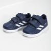 Modré tenisky na suchý zips adidas, modrá, 101-9151 - 16