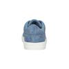 Modré dievčenské tenisky s motýlikmi mini-b, modrá, 321-9618 - 16