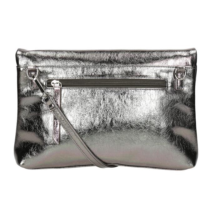 Strieborná dámská Crossbody kabelka bata, strieborná, 961-1852 - 16