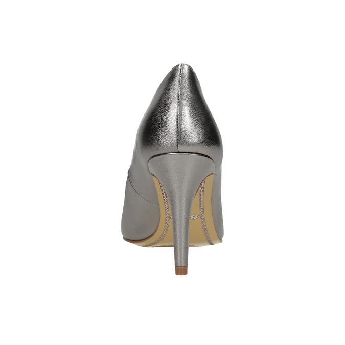 Strieborné kožené lodičky insolia, 726-1660 - 15