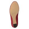 Červené baleríny na kline bata, červená, 629-5633 - 19