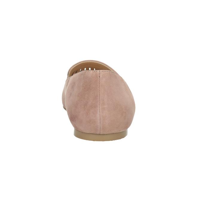 Dámska kožená Loafers obuv bata, 523-5659 - 15