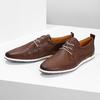 Ležérne kožené tenisky bata, hnedá, 824-4124 - 16