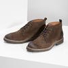 Kožená obuv v štýle Chukka Boots bata, hnedá, 823-4627 - 16