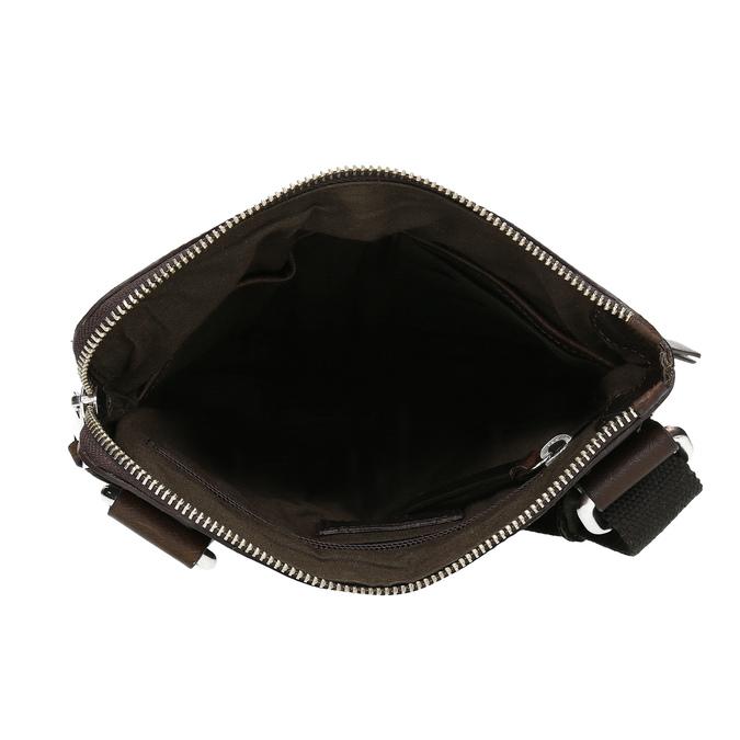 Hnedá kožená Crossbody taška bata, hnedá, 964-4288 - 15