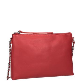 Červená Crossbody kabelka s retiazkou bata, červená, 964-5292 - 13
