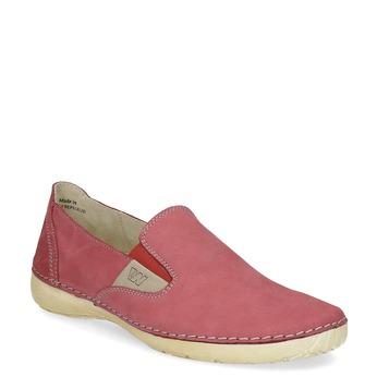 Červené dámske Slip-on weinbrenner, červená, 536-5606 - 13