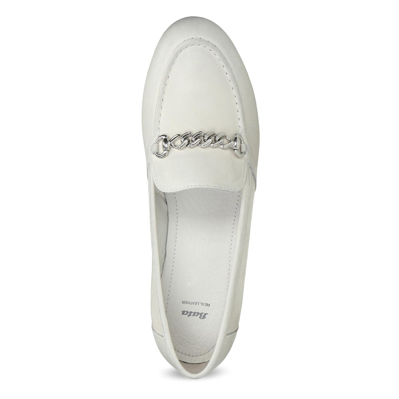 cc336a2eae Bata Dámske kožené mokasíny s prackou - Všetky topánky
