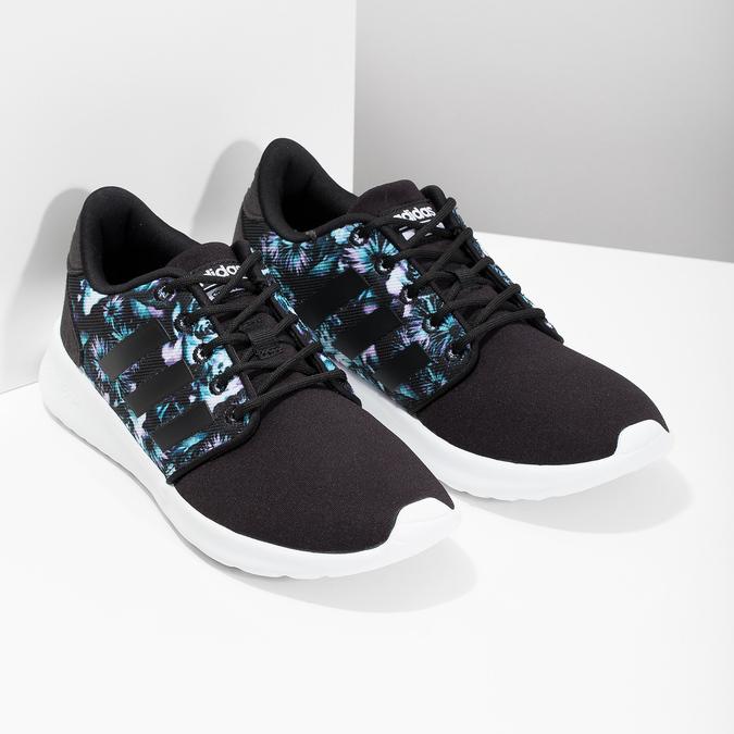 Tenisky s farebným kvetinovým vzorom adidas, čierna, 509-6212 - 26