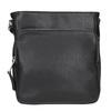 Pánska Crossbody taška s vreckom bata, čierna, 961-6837 - 26