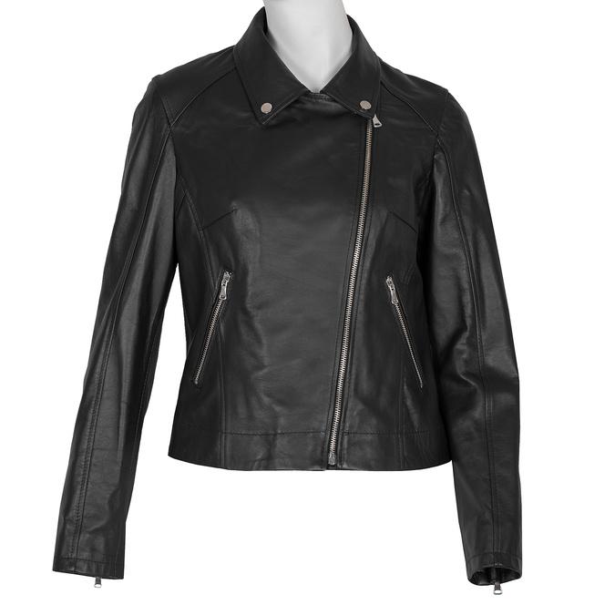 Kožená dámska bunda bata, čierna, 974-6123 - 13