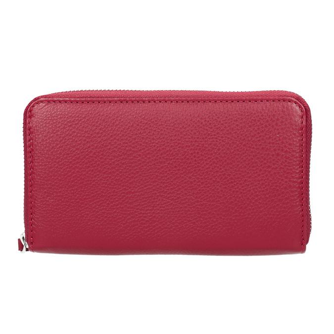Červená kožená peňaženka bata, červená, 944-5190 - 26
