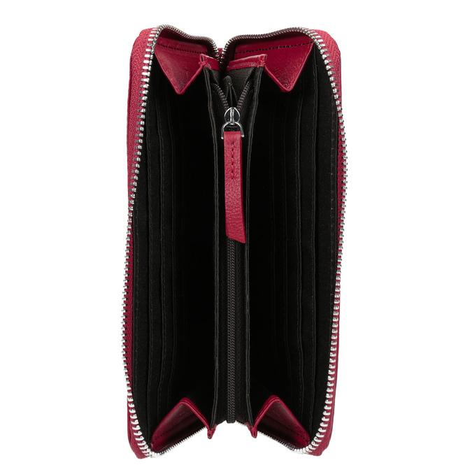 Červená kožená peňaženka bata, červená, 944-5190 - 15