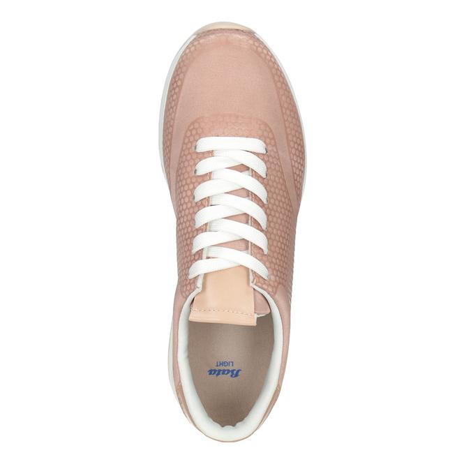 Dámske ružové tenisky bata-light, ružová, 549-5605 - 15