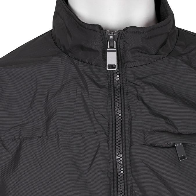 Pánska čierna textilná bunda bata, čierna, 979-9119 - 16
