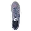 Ležérne pánske kožené tenisky nike, modrá, 803-9699 - 17