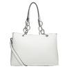 Biela kabelka s retiazkou bata, biela, 961-1343 - 16