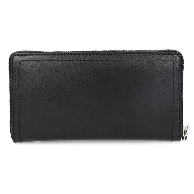 Čierna dámska kožená peňaženka gabor-bags, čierna, 946-6003 - 16