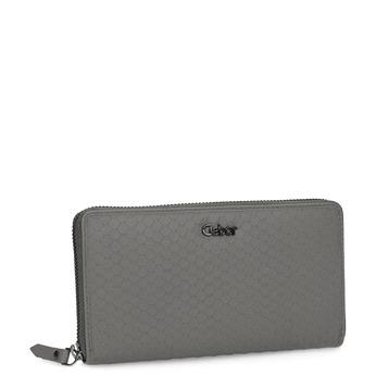 Kožená dámska šedá peňaženka gabor-bags, šedá, 946-8002 - 13