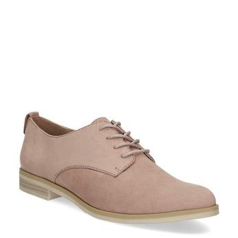 Ležérne dámske poltopánky bata, ružová, 529-5636 - 13
