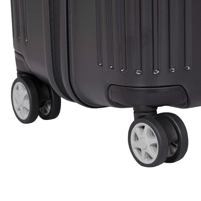 Škrupinový cestovný kufor samsonite, čierna, 960-6612 - 16
