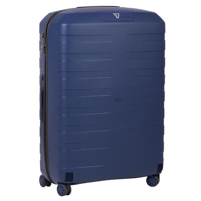 Modrý cestovný kufor na koliečkach roncato, modrá, 960-9610 - 13