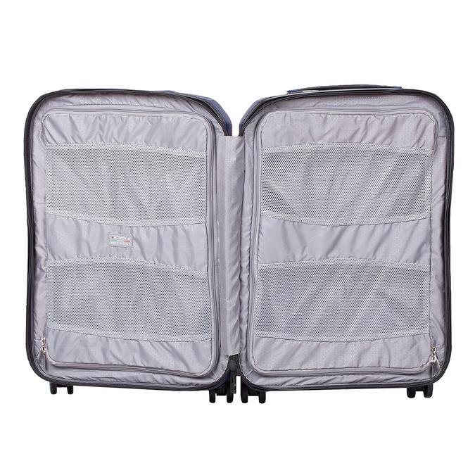 Menší cestovný kufor na koliečkach roncato, modrá, 960-9608 - 17