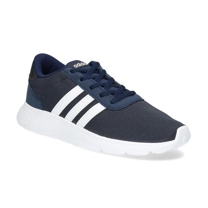 Modré chlapčenské tenisky športového strihu adidas, modrá, 409-9388 - 13