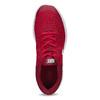 Červené detské tenisky s bielou podrážkou nike, červená, 409-5502 - 17