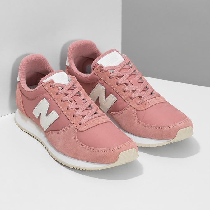 Ružové dámske tenisky new-balance, ružová, 509-5871 - 26