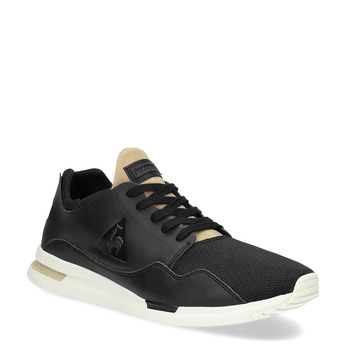 Čierno-zlaté pánske tenisky le-coq-sportif, čierna, 801-6234 - 13