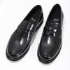 Čierne pánske kožené mokasíny bata, čierna, 814-6177 - 16