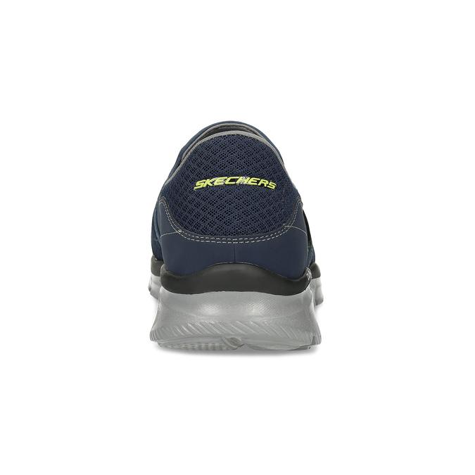 Slip-on športového strihu skechers, modrá, 809-9147 - 15