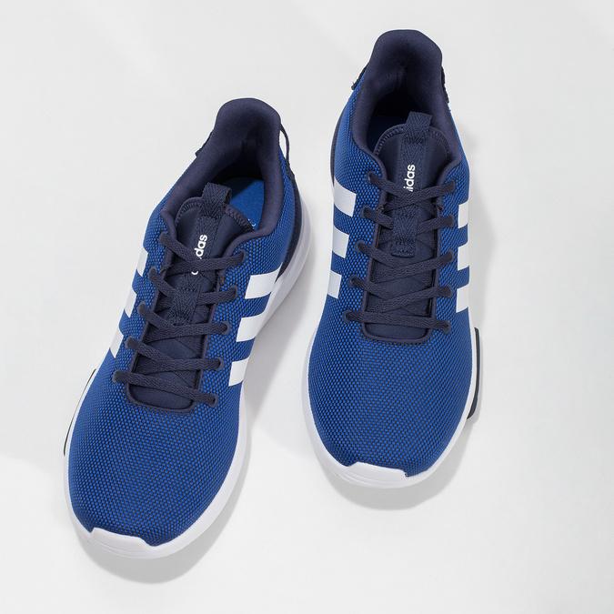 Pánske modré tenisky adidas, modrá, 809-9601 - 16