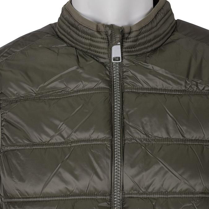 Pánska khaki prešívaná vesta bata, 979-7113 - 16