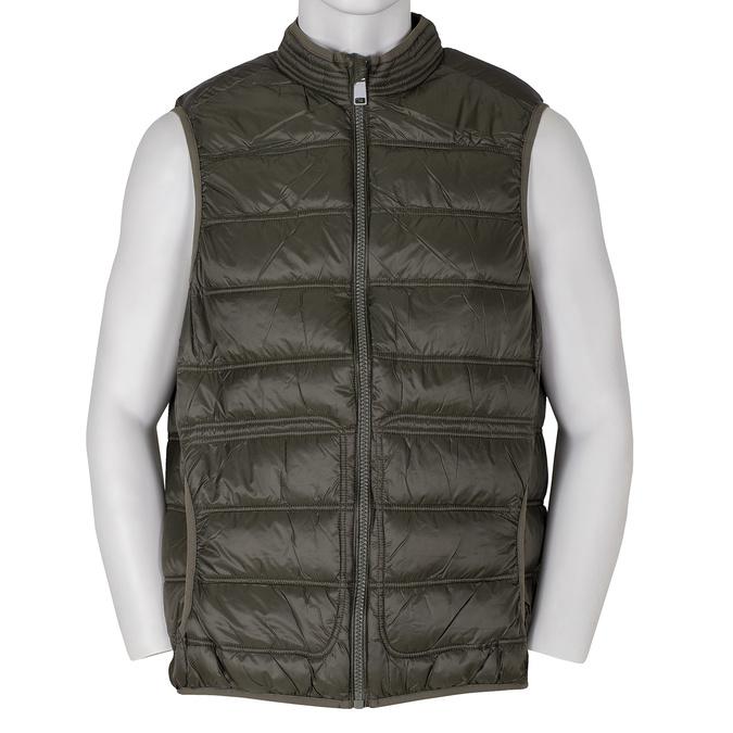 Pánska khaki prešívaná vesta bata, 979-7113 - 13