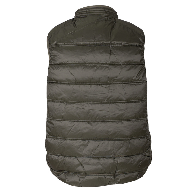Pánska khaki prešívaná vesta bata, 979-7113 - 26