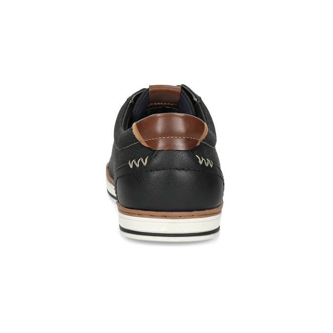 Pánske ležérne tenisky bata-red-label, čierna, 841-6616 - 15