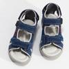 Chlapčenské sandále na suchý zips modré mini-b, modrá, 263-9605 - 16
