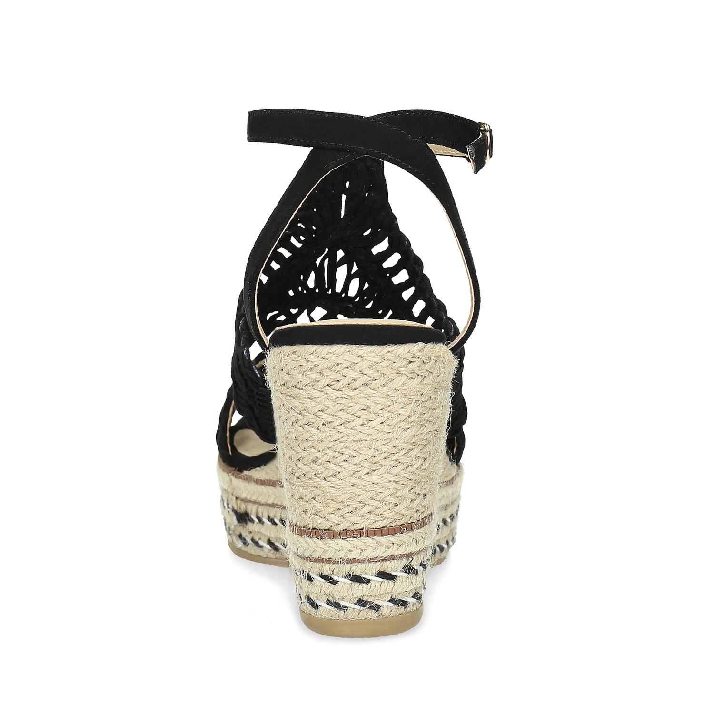 2598b7d7dffb8 ... Čierne prepletané sandále na platforme bata, čierna, 759-6633 - 15 ...