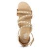 Dievčenské sandále s perličkami bullboxer, béžová, 361-8609 - 17