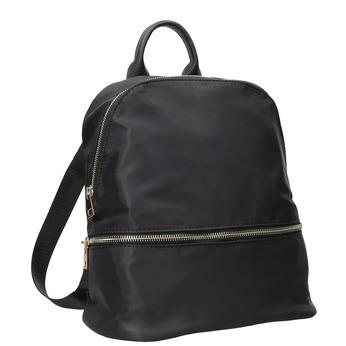 Malý čierny batoh bata, čierna, 969-6688 - 13