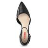 Lodičky na nízkom podpätku čierne bata-red-label, čierna, 621-6607 - 17