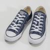 Dámske textilné tenisky s gumovou špičkou converse, modrá, 589-9279 - 16