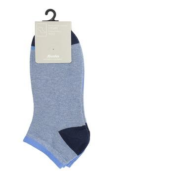 Svetlomodré členkové ponožky bata, modrá, 919-9804 - 13