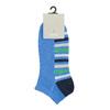 Členkové modré ponožky s pruhmi bata, modrá, 919-9803 - 13