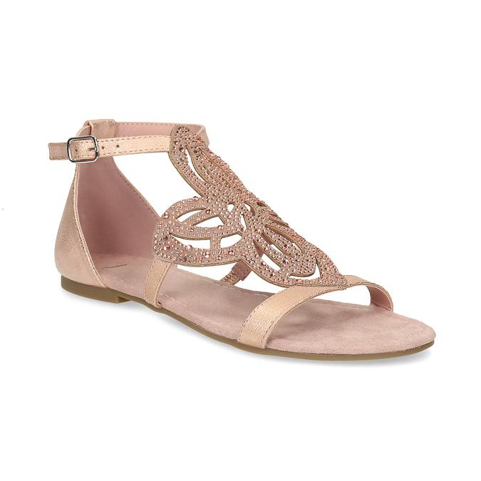 871a6cf0dbe0 Baťa Staroružové dámske sandále s kamienkami - Ženy