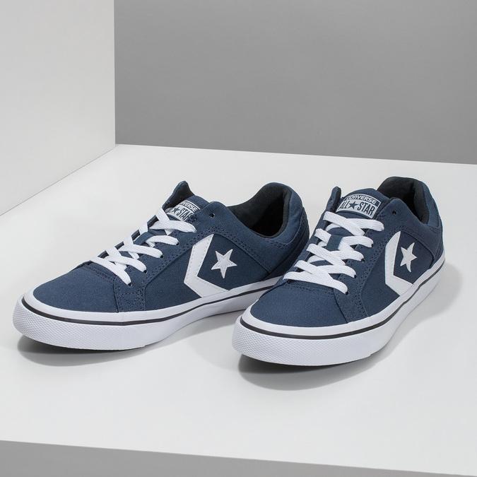 Modré pánske tenisky converse, modrá, 889-9259 - 16