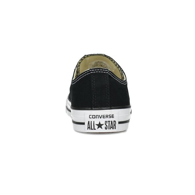 Dámske čierne tenisky s gumovou špičkou converse, čierna, 589-6279 - 15